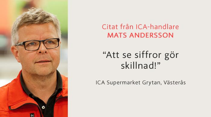 CItat från Mats Andersson